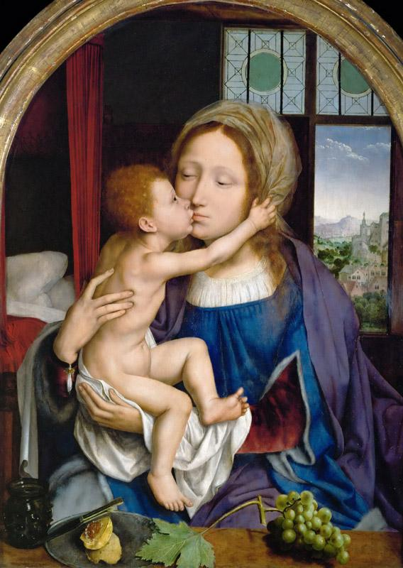 Quinten Metsys -- Madonna and Child