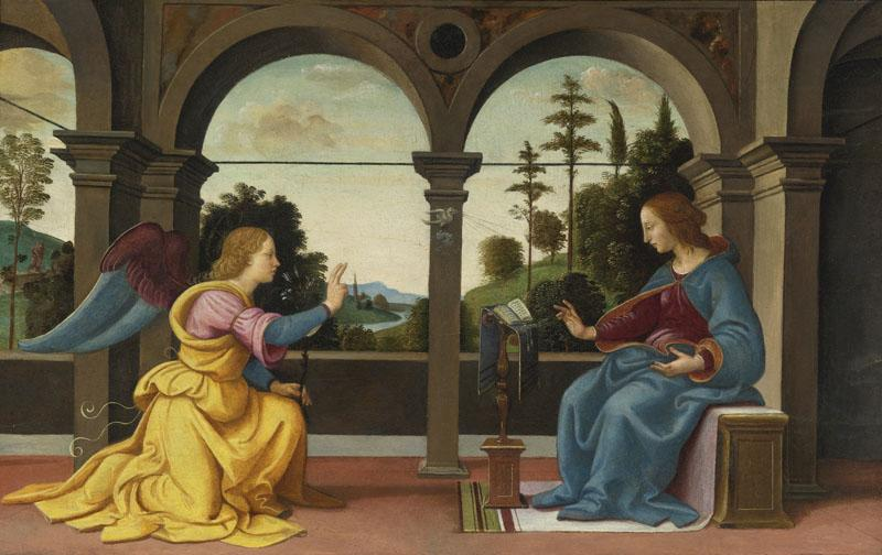 RAFFAELLINO DEL GARBO-THE ANNUNCIATION