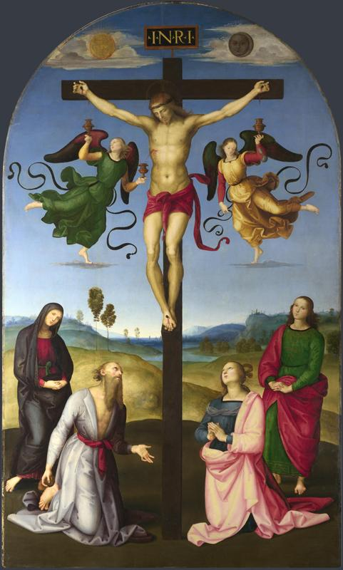 Raphael - The Mond Crucifixion