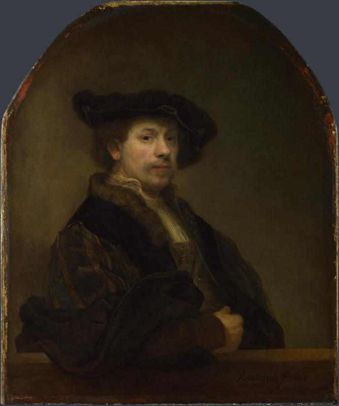 Rembrandt - Self Portrait at the Age of 34