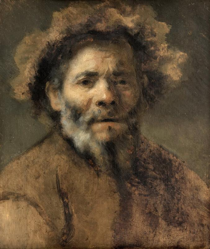 Rembrandt van Rijn - Study of an Old Man2