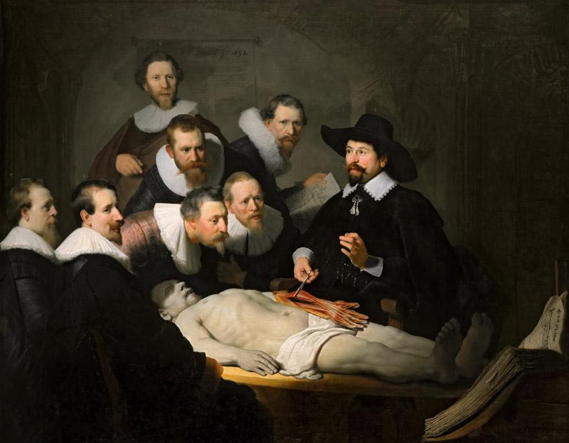 Rembrandt van Rijn - The Anatomy Lesson of Dr Nicolaes Tulp