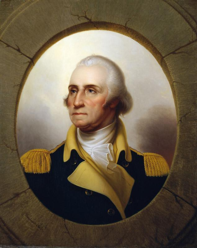 Rembrandt Peale - George Washington (Porthole type)