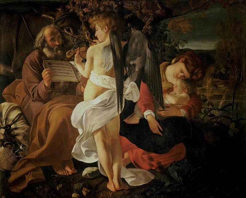 Rest on the Flight into Egypt (c.1597)