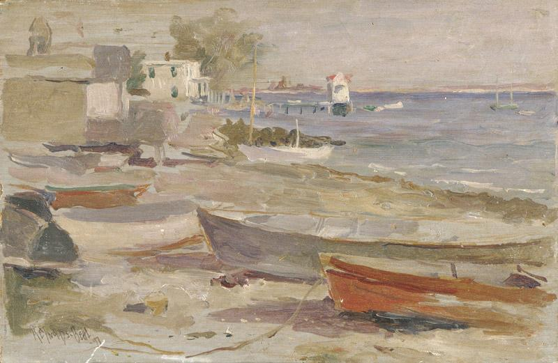 Reynolds Beal--Shore at Orient, Long Island
