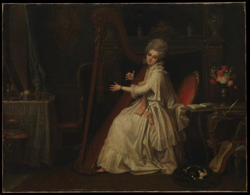 Richard Cosway--Marianne Dorothy Harland (1759-1785), Later Mrs. William Dalrymple