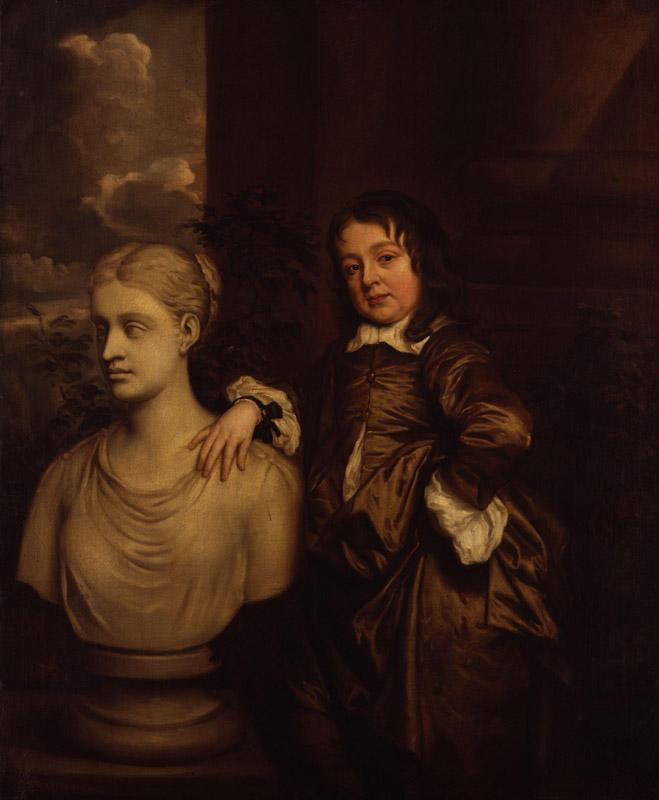 Richard Gibson by Sir Peter Lely