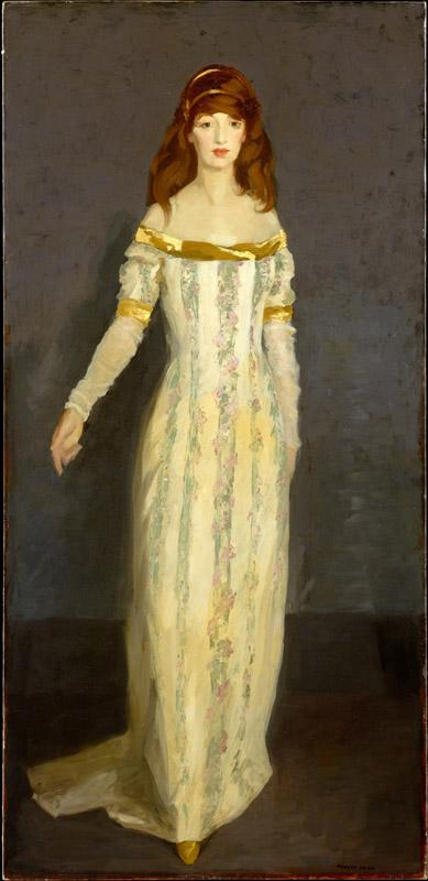 Robert Henri--The Masquerade Dress