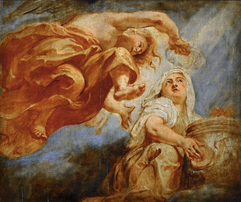 Rubens, Peter Paul -- Genius crowning Religion