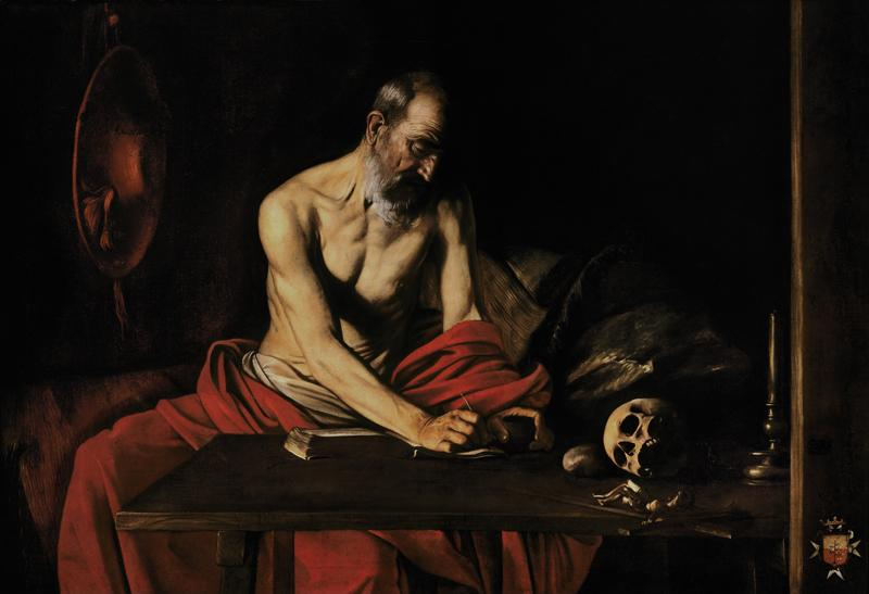 Saint Jerome Writing (c.1607)