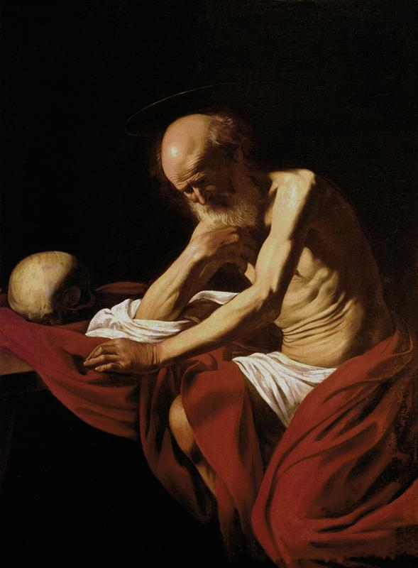Saint Jerome in Meditation (1606)