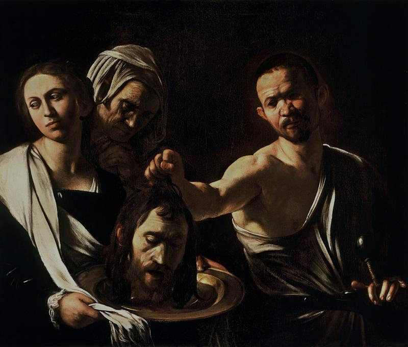 Salome with the Head of John the Baptist (1610)