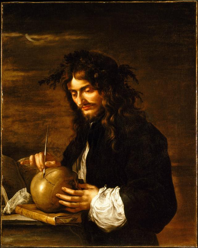 Salvator Rosa--Self-Portrait