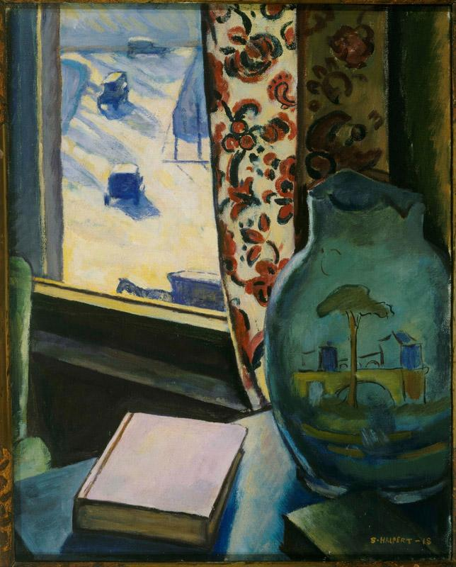 Samuel Halpert (1884 - 1930) (American)-Through the Window