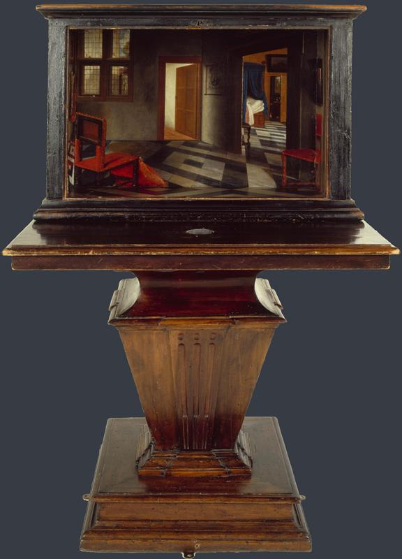 Samuel van Hoogstraten - A Peepshow with Views of the Interior of a Dutch House