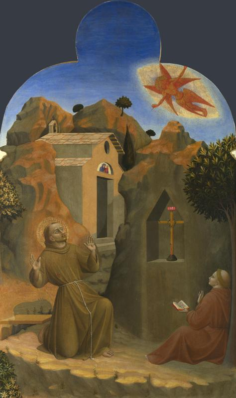 Sassetta - The Stigmatisation of Saint Francis