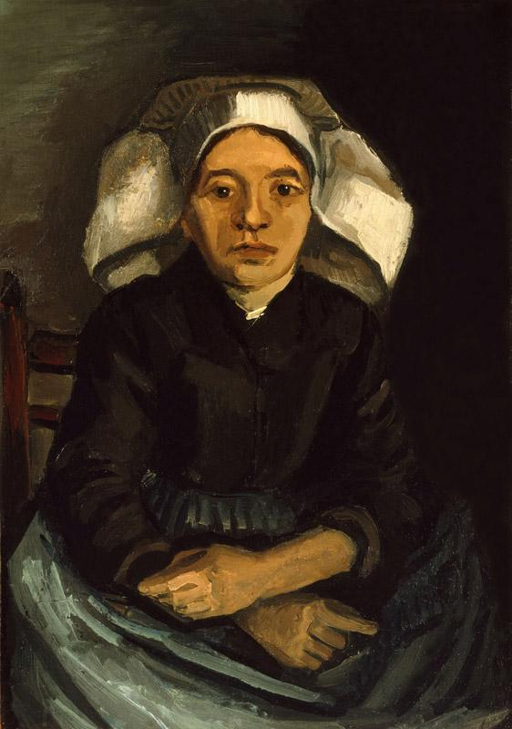 Seated Peasant Woman