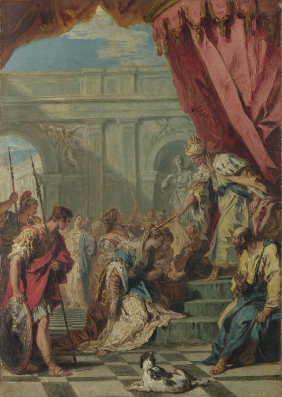 Sebastiano Ricci - Esther before Ahasuerus