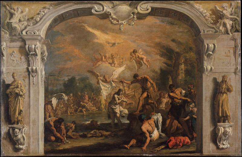 Sebastiano Ricci--The Baptism of Christ