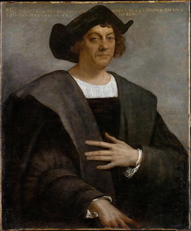 Sebastiano del Piombo--Portrait of a Man, Said to be Christopher Columbus (born about 1446, died 1506)