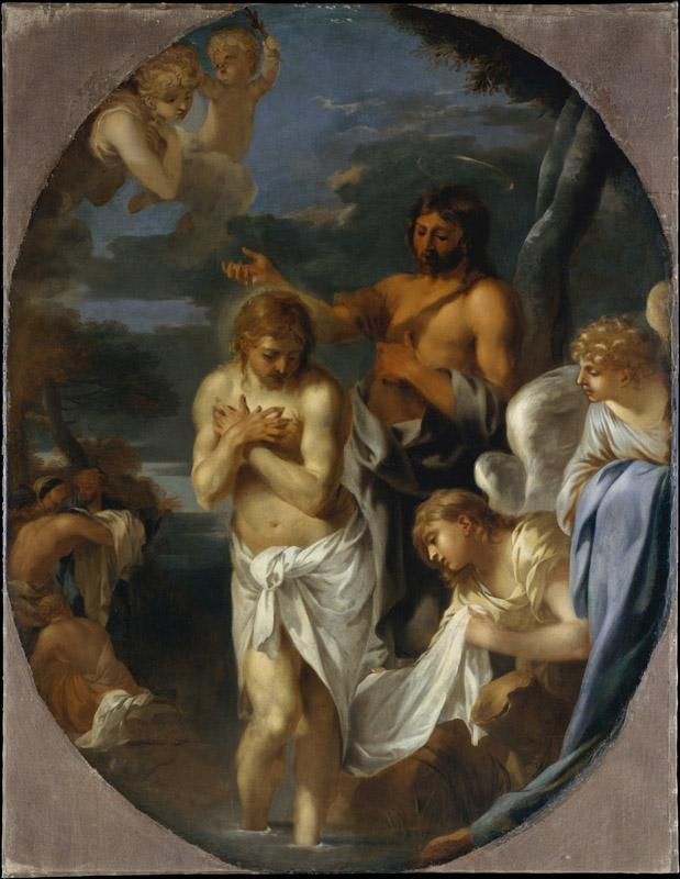 Sebastien Bourdon--The Baptism of Christ