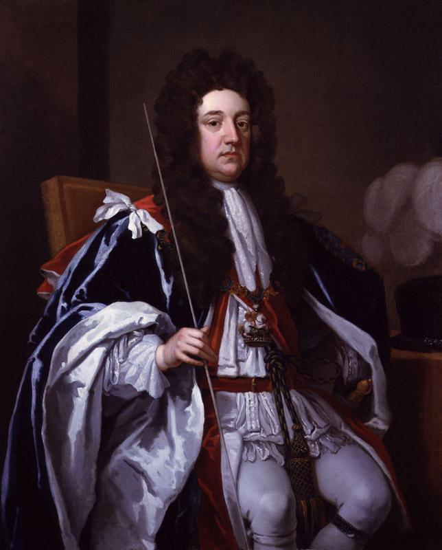 Sidney Godolphin, 1st Earl of Godolphin by Sir Godfrey Kneller, Bt (2)