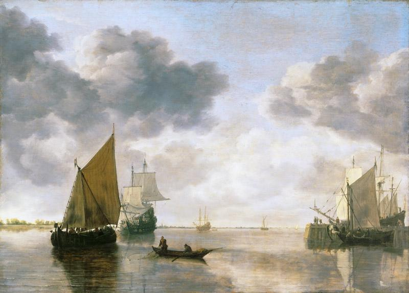Simon Jacobsz. de Vlieger, Dutch (active Delft and Amsterdam), c. 1600-1653 -- Marine