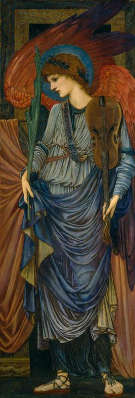 Sir Edward Coley Burne-Jones - Musical Angel, 1878-1896