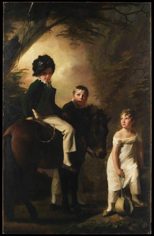 Sir Henry Raeburn--The Drummond Children