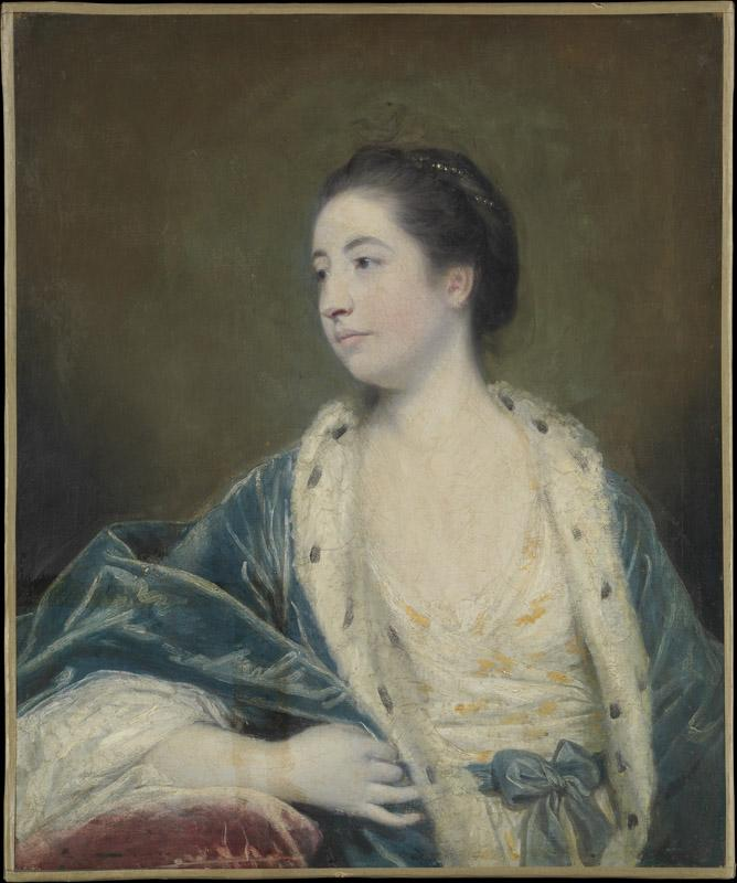 Sir Joshua Reynolds--Portrait of a Woman