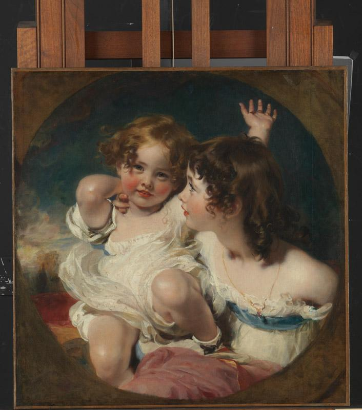 Sir Thomas Lawrence--The Calmady Children