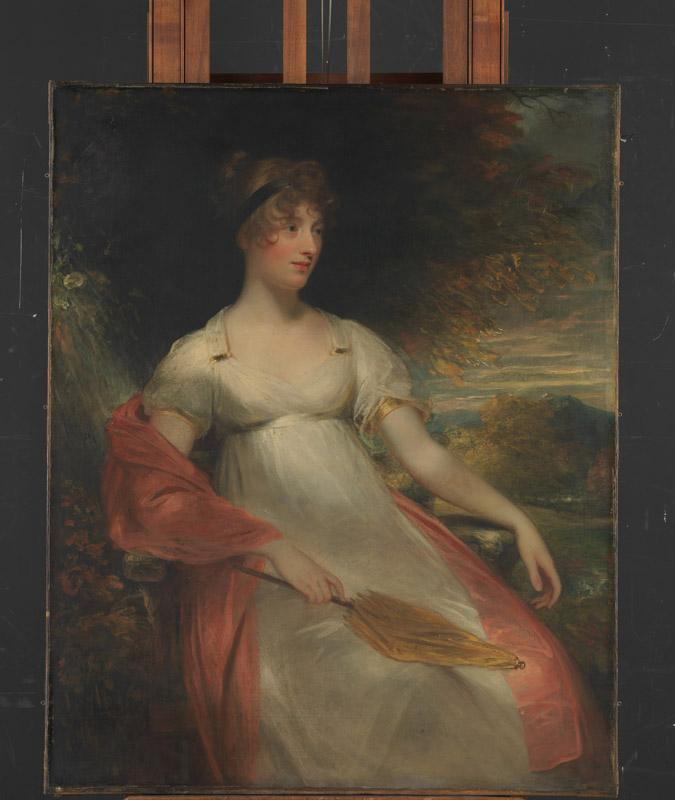 Sir William Beechey--Portrait of a Woman