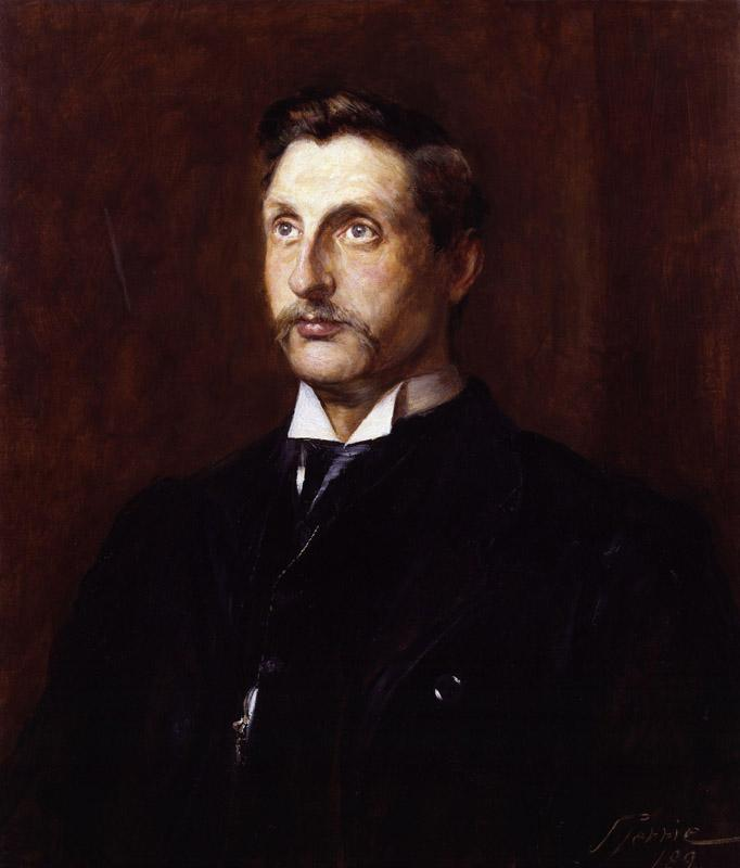 Sir (Henry) Rider Haggard by John Pettie