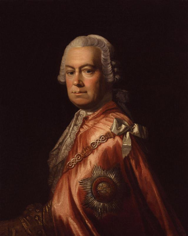 Sir Andrew Mitchell by Allan Ramsay