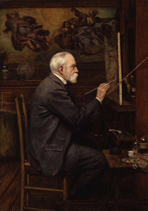 Sir Edward John Poynter, 1st Bt by Sir Philip Burne-Jones, 2nd Bt