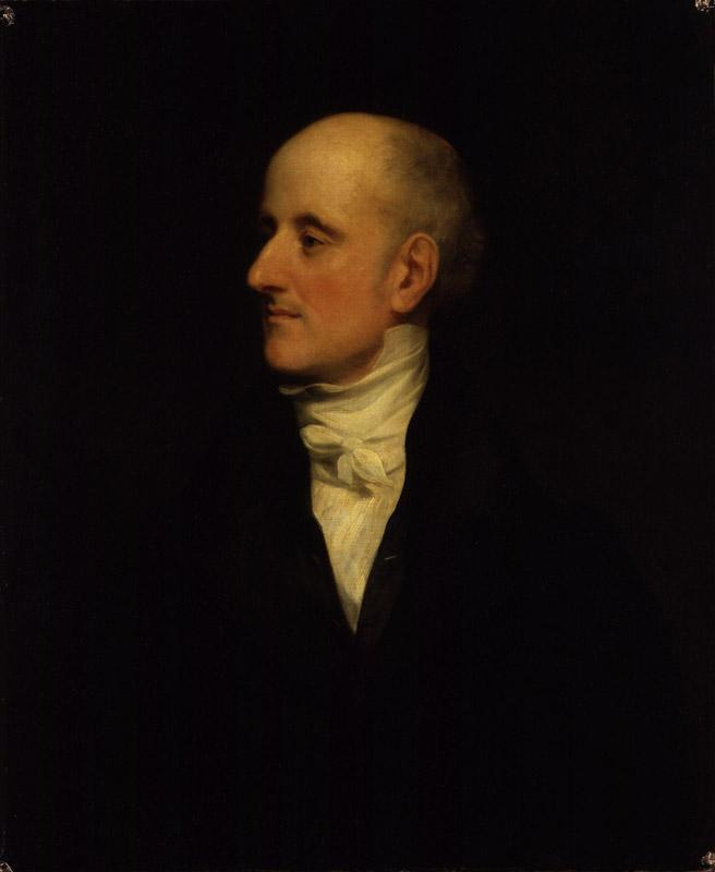 Sir Francis Burdett, 5th Bt by Thomas Phillips