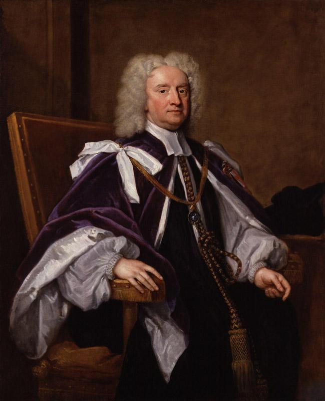 Sir Jonathan Trelawny, 3rd Bt by Sir Godfrey Kneller, Bt