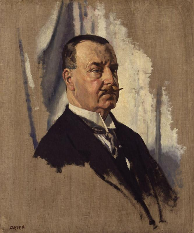 Sir Joseph George Ward, 1st Bt by Sir William Orpen