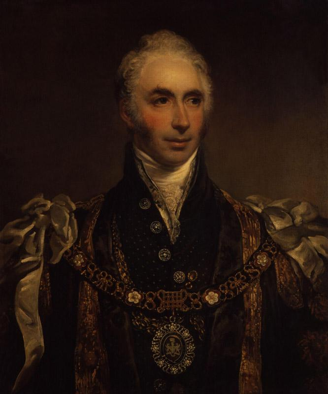 Sir Matthew Wood, 1st Bt by Arthur William Devis