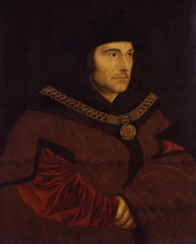 Sir Thomas More by Hans Holbein the Younger (2)