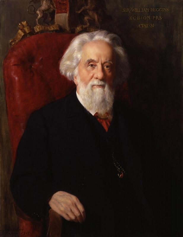 Sir William Huggins by John Collier
