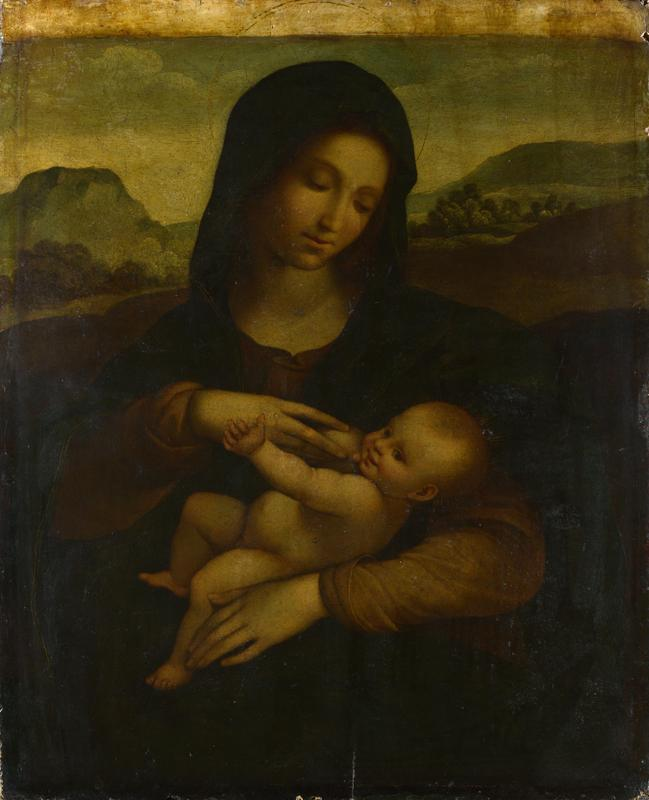Sodoma - The Madonna and Child