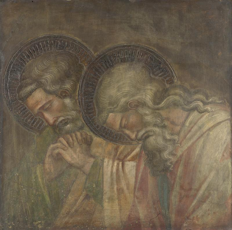 Spinello Aretino - Two Haloed Mourners