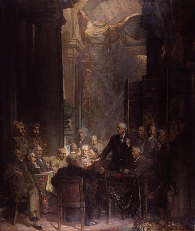 Statesmen of World War I by Sir James Guthrie