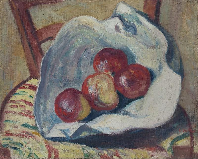Still Life - Apples on the Chair, 1906