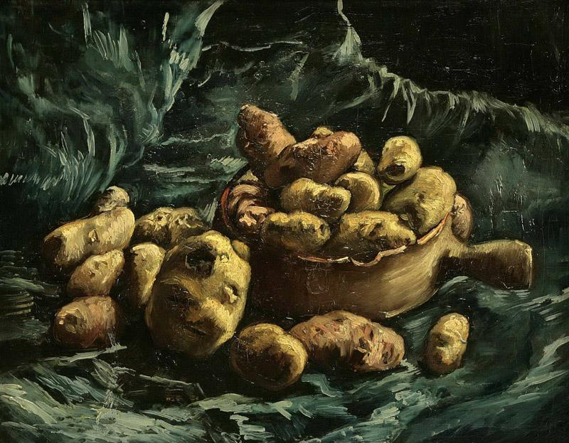 Still-life with potatoes