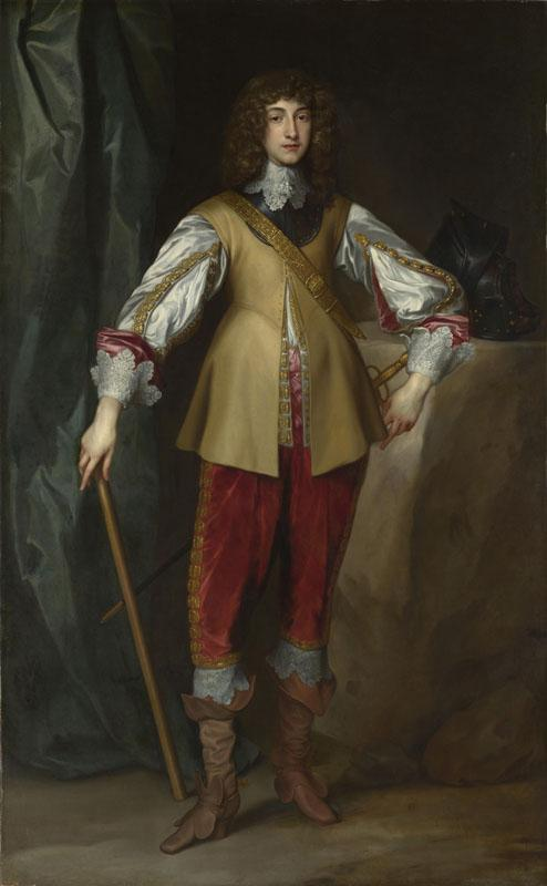 Studio of Anthony van Dyck - Prince Rupert, Count Palatine
