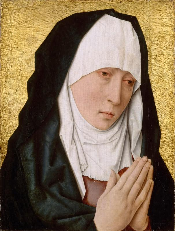 Studio of Dieric Bouts the Elder -- Mater Dolorosa