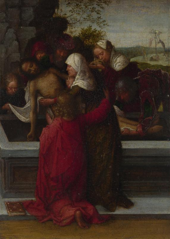Style of Adriaen Ysenbrandt - The Entombment