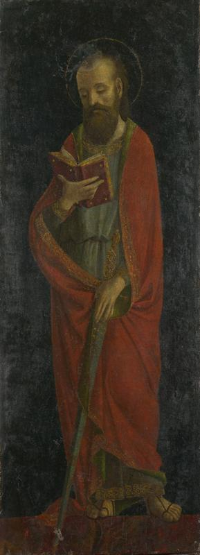 Style of Ambrogio Bergognone - Saint Paul